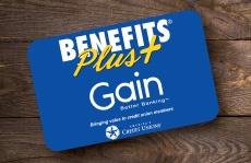 Benefits Plus Card Gain Credit Union