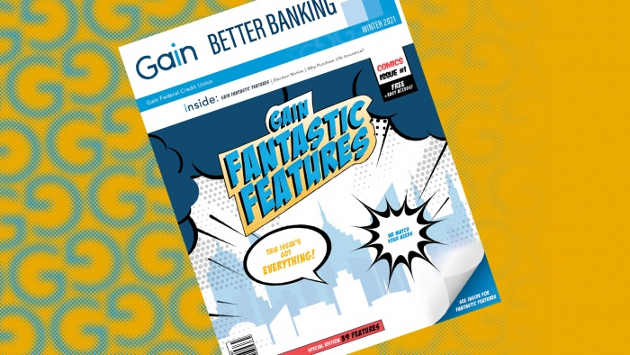 gain better banking newsletter - gain fantastic features