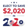 elect to save $2,020 in 2020