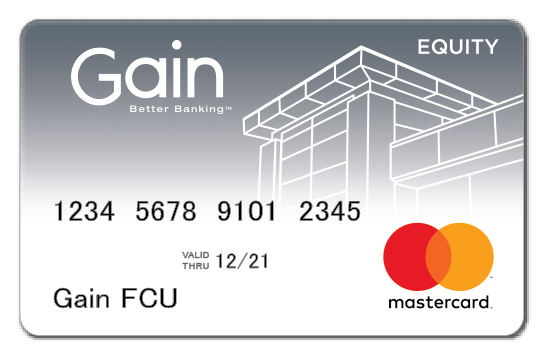 Gain Equity Mastercard