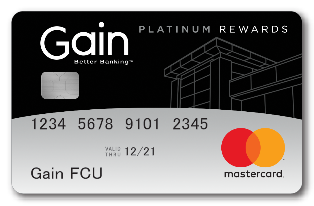 Gain Platinum Rewards Mastercard